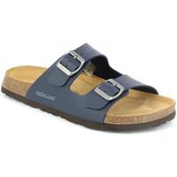 kengät Miehet Sandaalit Grunland CB3013 Sininen
