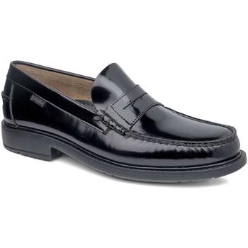 kengät Miehet Mokkasiinit CallagHan 90000 Musta