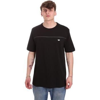 vaatteet Miehet Lyhythihainen t-paita Antony Morato MMKS01696 FA100144 Musta