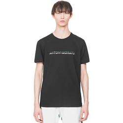 vaatteet Miehet Lyhythihainen t-paita Antony Morato MMKS01754 FA100144 Musta