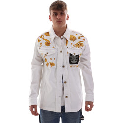 vaatteet Miehet Takit Versace C1GVB92GHRC33003 Valkoinen