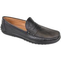 kengät Miehet Mokkasiinit Valleverde 11840 Musta