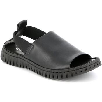 kengät Naiset Sandaalit ja avokkaat Grunland SA2538 Musta