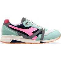 kengät Naiset Matalavartiset tennarit Diadora 201176278 Vihreä
