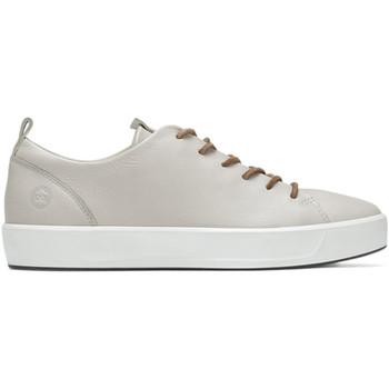 kengät Naiset Matalavartiset tennarit Ecco 45093301007 Valkoinen