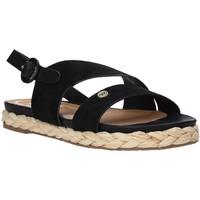 kengät Naiset Espadrillot Wrangler WL01502A Musta