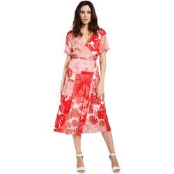vaatteet Naiset Lyhyt mekko Gaudi 011FD15014 Punainen