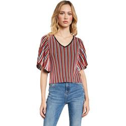vaatteet Naiset Topit / Puserot Gaudi 011FD53001 Punainen
