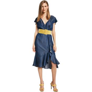vaatteet Naiset Lyhyt mekko Gaudi 011BD16001 Sininen