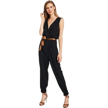 vaatteet Naiset Jumpsuits / Haalarit Gaudi 011BD25045 Musta
