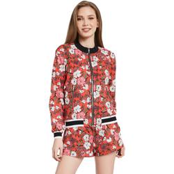 vaatteet Naiset Takit Gaudi 011BD35021 Punainen
