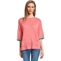 vaatteet Naiset Neulepusero Gaudi 011BD53033 Vaaleanpunainen