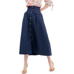 vaatteet Naiset Hame Fracomina FR20SP133 Sininen