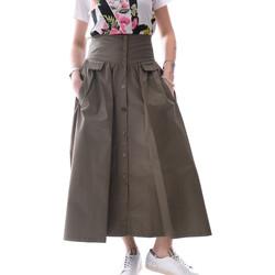 vaatteet Naiset Hame Fracomina FR20SP133 Vihreä