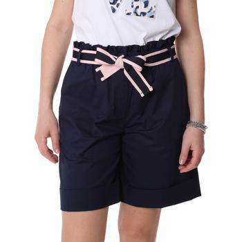 vaatteet Naiset Shortsit / Bermuda-shortsit Fracomina FR20SP606 Sininen