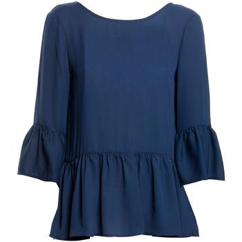 vaatteet Naiset Topit / Puserot Fracomina FR20SP040 Sininen