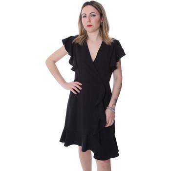 vaatteet Naiset Lyhyt mekko Fracomina FR20SP051 Musta