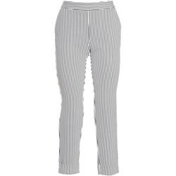 vaatteet Naiset Chino-housut / Porkkanahousut Fracomina FR20SP163 Musta