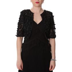 vaatteet Naiset Neuleet / Villatakit Fracomina FR20SP636 Musta