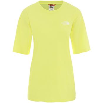 vaatteet Naiset Lyhythihainen t-paita The North Face NF0A4CESVC51 Keltainen