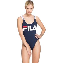 vaatteet Naiset Yksiosainen uimapuku Fila 687733 Sininen