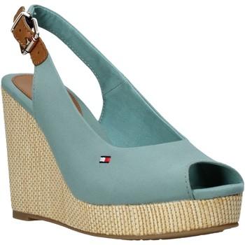 kengät Naiset Sandaalit ja avokkaat Tommy Hilfiger FW0FW04789 Vihreä