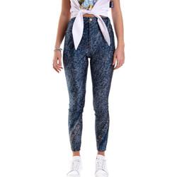 vaatteet Naiset Legginsit Versace A1HVB009S0684904 Sininen