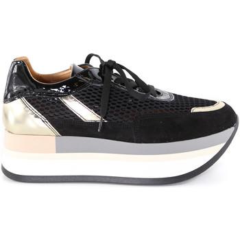 kengät Naiset Matalavartiset tennarit Grace Shoes 331033 Musta