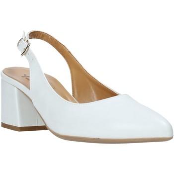 kengät Naiset Korkokengät Grace Shoes 774016 Valkoinen