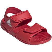 kengät Lapset Urheilusandaalit adidas Originals EG2136 Punainen
