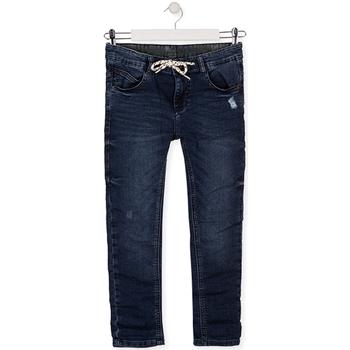 vaatteet Lapset Slim-farkut Losan 013-6021AL Sininen