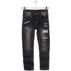 vaatteet Lapset Slim-farkut Losan 013-9005AL Harmaa