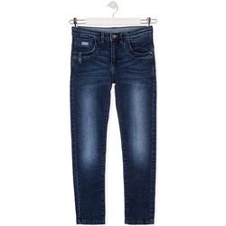 vaatteet Lapset Slim-farkut Losan 013-9010AL Sininen