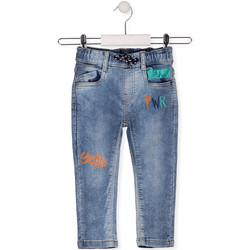 vaatteet Lapset Slim-farkut Losan 015-6022AL Sininen