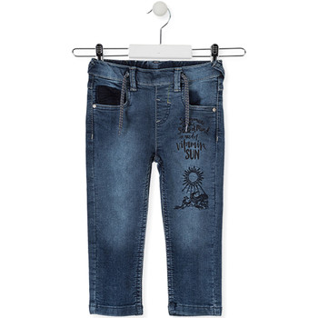 vaatteet Lapset Slim-farkut Losan 015-6023AL Sininen