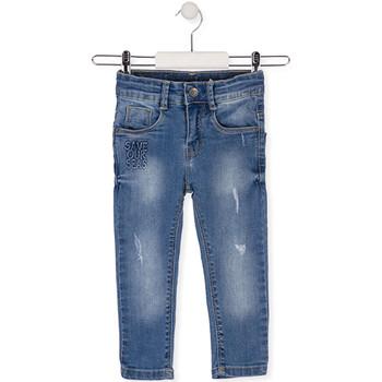 vaatteet Lapset Slim-farkut Losan 015-9008AL Sininen