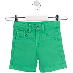 vaatteet Lapset Shortsit / Bermuda-shortsit Losan 015-9009AL Vihreä