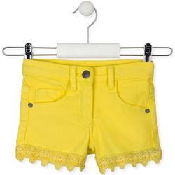vaatteet Lapset Shortsit / Bermuda-shortsit Losan 016-9001AL Keltainen
