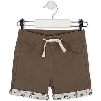 vaatteet Lapset Shortsit / Bermuda-shortsit Losan 017-9008AL Vihreä