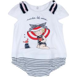vaatteet Tytöt Jumpsuits / Haalarit Chicco 09050711000000 Valkoinen