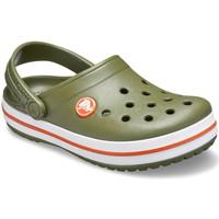kengät Lapset Puukengät Crocs 204537 Vihreä