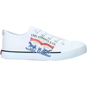 kengät Lapset Matalavartiset tennarit Levi's VORI0008T Valkoinen