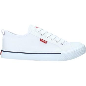 kengät Lapset Matalavartiset tennarit Levi's VORI0006T Valkoinen