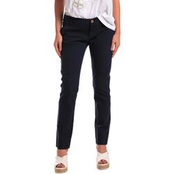 vaatteet Naiset Chino-housut / Porkkanahousut Gaudi 811BD25009 Sininen