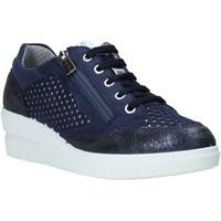 kengät Naiset Matalavartiset tennarit IgI&CO 5153199 Sininen
