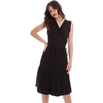 vaatteet Naiset Lyhyt mekko Gaudi 011BD15037 Musta