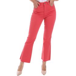 vaatteet Naiset Bootcut-farkut Gaudi 011BD25017 Punainen