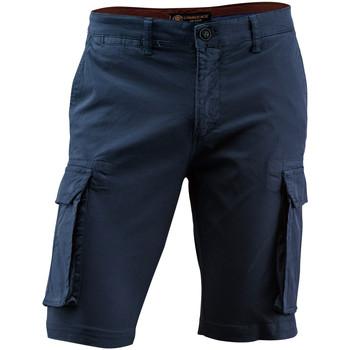 vaatteet Miehet Shortsit / Bermuda-shortsit Lumberjack CM80747 002 602 Sininen