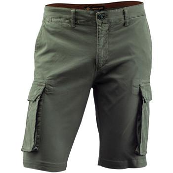 vaatteet Miehet Shortsit / Bermuda-shortsit Lumberjack CM80747 002 602 Vihreä
