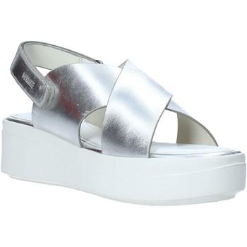 kengät Naiset Sandaalit ja avokkaat Impronte IL01529A Hopea